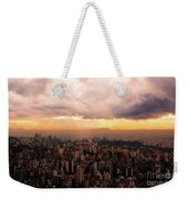 Belo Horizonte - The Cityscape From Above Weekender Tote Bag