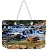 Below Toccoa Falls Weekender Tote Bag