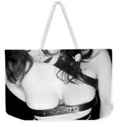 Belted 3 - Self Portrait Weekender Tote Bag