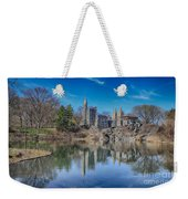 Belvedere Castle And Turtle Pond Weekender Tote Bag