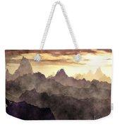 Belzoni Mountain Range Weekender Tote Bag