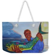 Ben And The Dolphin Fish Weekender Tote Bag