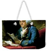 Ben Franklin Weekender Tote Bag