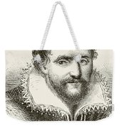 Ben Jonson 1572 To 1637. English Weekender Tote Bag