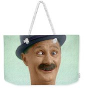 Ben Turpin, Vintage Comedy Actor Weekender Tote Bag