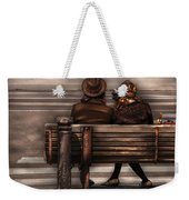 Bench - A Couple Out Of Time Weekender Tote Bag