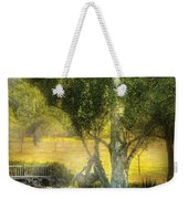 Bench - I Had This Dream And It All Began Weekender Tote Bag
