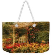 Bench - The Rose Garden Weekender Tote Bag