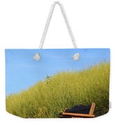 Bench At The Beach Weekender Tote Bag