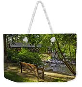 Bench By The Stream IIi Weekender Tote Bag