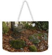 Bench In Fall Weekender Tote Bag