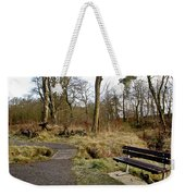 Bench In Polkemmet Park. Weekender Tote Bag