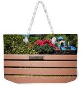 Bench In Steelhead Park Weekender Tote Bag