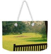 Bench Under A Tree Weekender Tote Bag