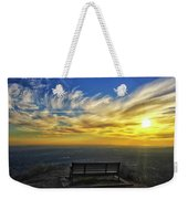 Bench With A View Weekender Tote Bag