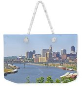 Bend In The River Weekender Tote Bag