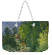 Bend In The Road Through The Forest Weekender Tote Bag