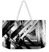 Beneath The Docks Night Weekender Tote Bag