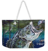 Beneath The Surface Weekender Tote Bag