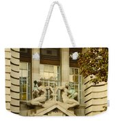 Benevolence And Humanity At County Hall Weekender Tote Bag