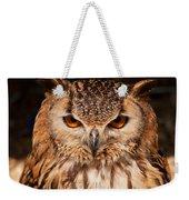 Bengal Owl Weekender Tote Bag
