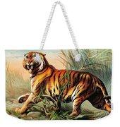 Bengal Tiger, Endangered Species Weekender Tote Bag