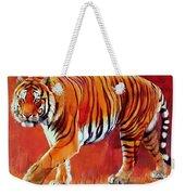 Bengal Tiger  Weekender Tote Bag by Mark Adlington