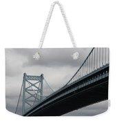 Benjamin Franklin Bridge Philadelphia Weekender Tote Bag