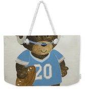 Benny Bear Football Weekender Tote Bag