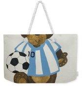 Benny Bear Soccer Weekender Tote Bag