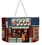 Bens Barbershop Weekender Tote Bag