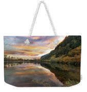 Benson State Recreation Area In Fall Weekender Tote Bag