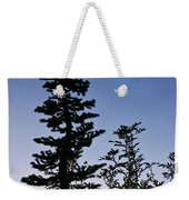 Bent Conifer Weekender Tote Bag
