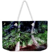 Bent Fir Tree Weekender Tote Bag