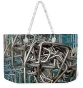 Bent Heavy Wire Weekender Tote Bag