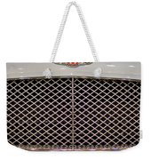 Bentley Grille And Insignia Weekender Tote Bag