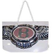 Bentley In Pink Weekender Tote Bag