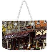 Bentleys Restaurant Woodstock Vermont Weekender Tote Bag