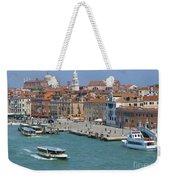 Benvenuto Venice Weekender Tote Bag