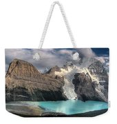 Berg Lake, Mount Robson Provincial Park Weekender Tote Bag