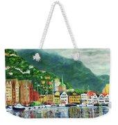 Bergen Harbor Weekender Tote Bag