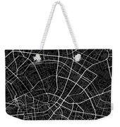 Berlin Germany Dark Map Weekender Tote Bag