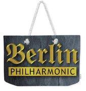Berlin Philharmonic Weekender Tote Bag