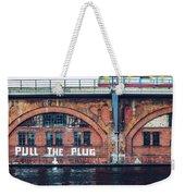 Berlin Street Art - Pull The Plug Weekender Tote Bag