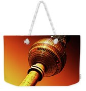 Berlin Television Tower - Berlin I Love You Weekender Tote Bag