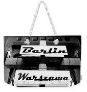 Berlin To Warsaw Frame 1  Weekender Tote Bag