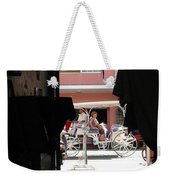 Bermuda Carriage Weekender Tote Bag