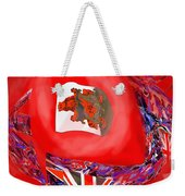 Bermuda Flags Weekender Tote Bag