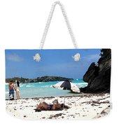 Bermuda On The Beach Weekender Tote Bag