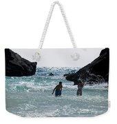 Bermuda Splash Weekender Tote Bag